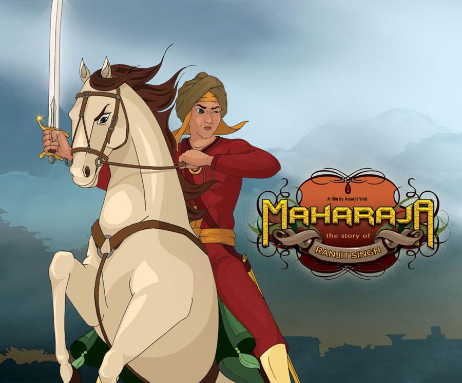 Maharaja Ranjit Singh animated movie